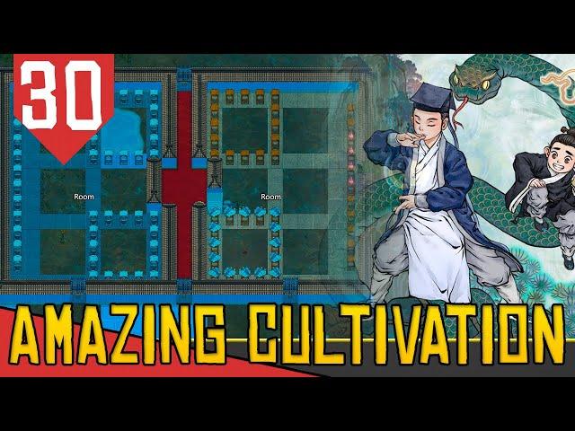 Plantando uma ARVORE SAGRADA e 30k de QI - Amazing Cultivation Simulator Immortal #30 [PT-BR]