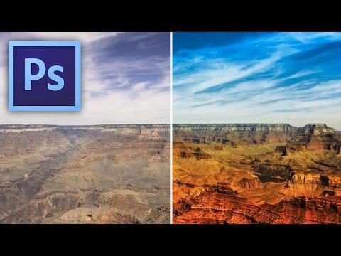 Photoshop tippek (#21.) - Hogyan lesz erőteljesebb, színesebb tájképed? videó letöltés