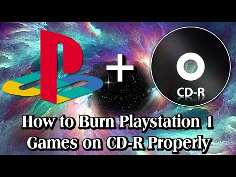 How to Burn Playstation 1 Games on CD-Rs Properly [2019]