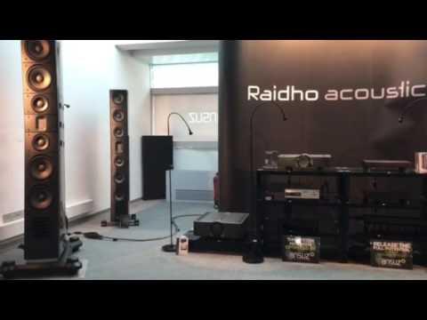 Raidho D5.1 with Aavik and Ansuz - Munich 2017