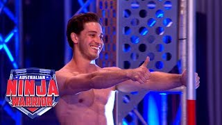 Unseen Ninja Run: Jordan Papandrea (Grand Final - Stage 2) | Australian Ninja Warrior 2018