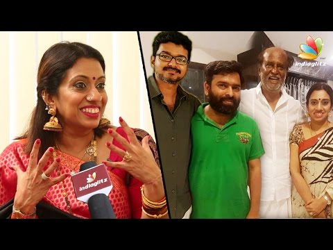 SANTHOSH VERA MATHIRI : Meenakshi Iyer - Santhosh Narayanan's wife on Womens Day | Vijay, Rajini