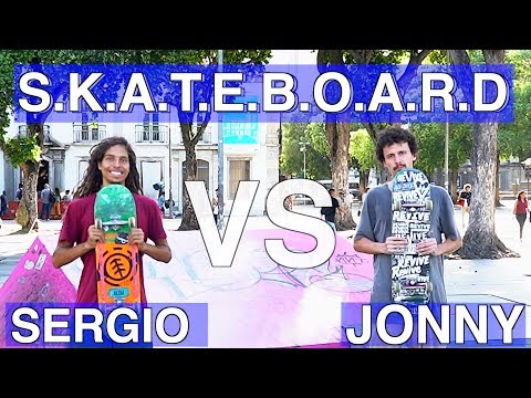 ANYTHING AT THE SKATEPARK COUNTS! JONNY GIGER VS SERGIO SANTORO