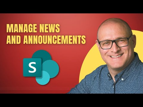 How To Manage News And Announcements In SharePoint Online