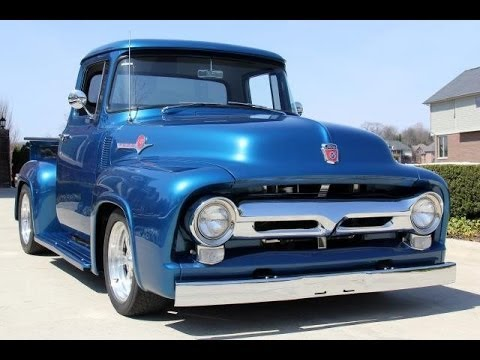 1956 Ford F100 Pickup Truck For Sale Youtube