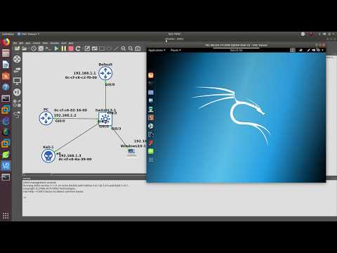 kali-linux-arp-poisoning/spoofing-attack