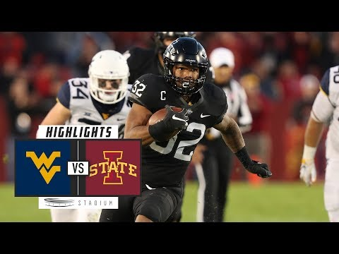 No. 6 West Virginia vs. Iowa State Football Highlights (2018) | Stadium