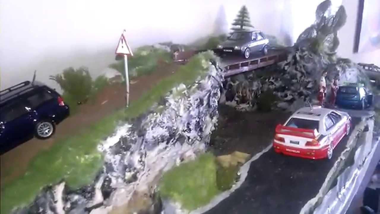 Road Rally Diorama 1 43 Youtube