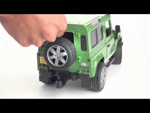 Land Rover Arazi Aracı At Nakil Aracı 02592  Www.bruderoyuncak.com