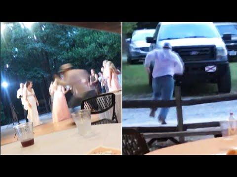 Kristina Kage - Why Boyfriend Ran When Girlfriend Caught Bride's Bouquet