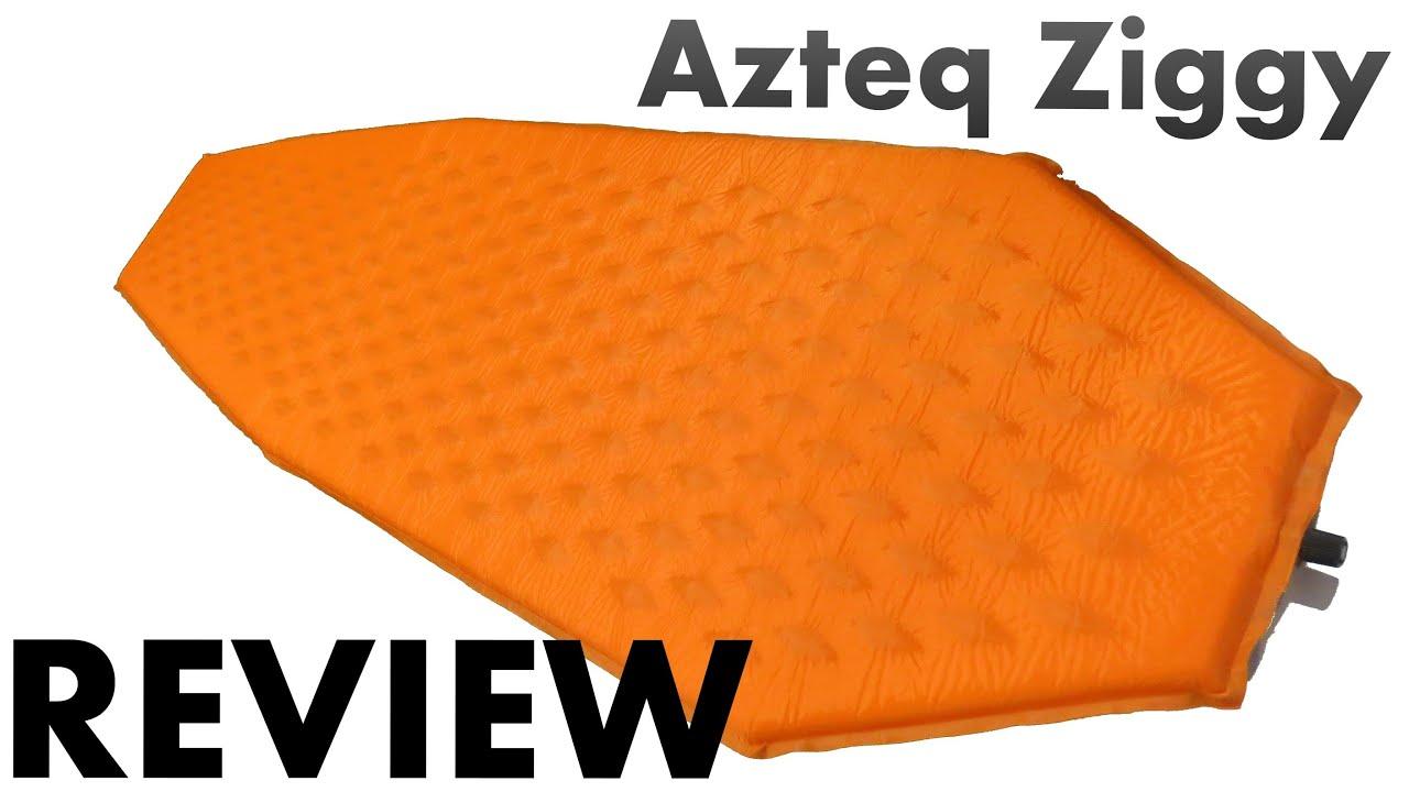 9e59735dc Azteq Ziggy - Colchão Auto inflável - YouTube