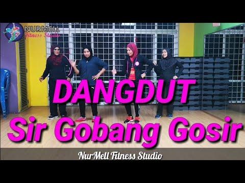 Zumba Dangdut Sir Gobang Gosir By Duo Anggrek With Zin Nurul