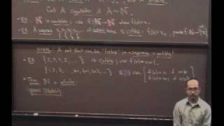 Real Analysis, Lecture 7: Countable and Uncountable Sets
