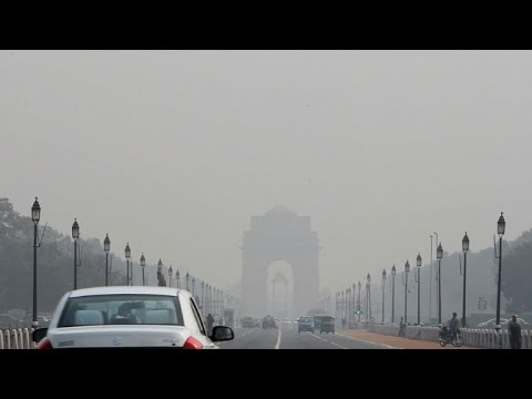 Inde: pics de pollution de l'air à New Delhi