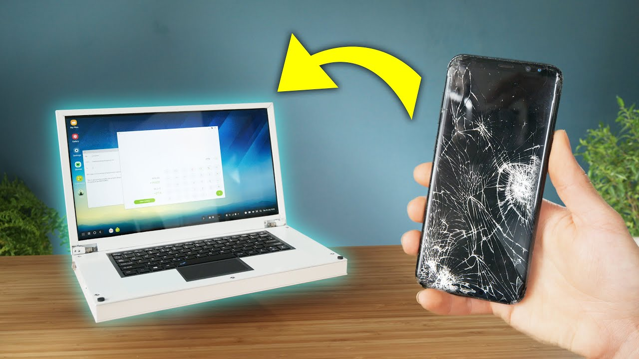 Smartphone to laptop transformation