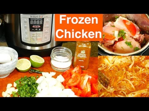 How do you cook chicken tenders in the instant pot