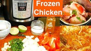 Instant Pot Mini Frozen Chicken Recipe