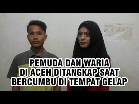 Asyik Bercumbu di Tempat Gelap, Pria di Aceh Ditangkap bersama Pria Cantik Bernama Angel Vanessa