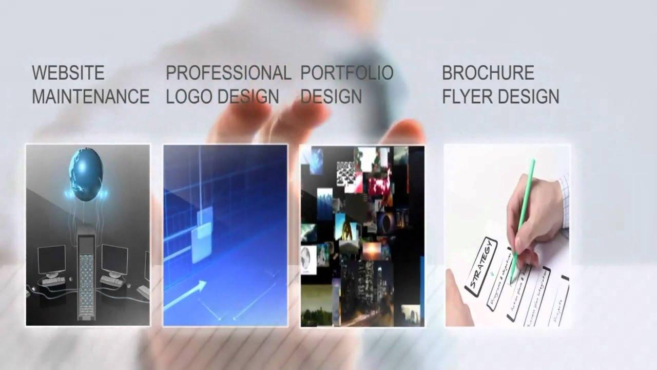 إعلان شركة تصميم مواقع إنترنت