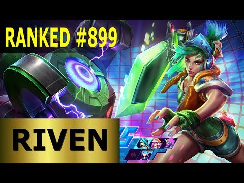 Riven Mid - Full League of Legends Gameplay [German] Lets Play LoL - Ranked #899