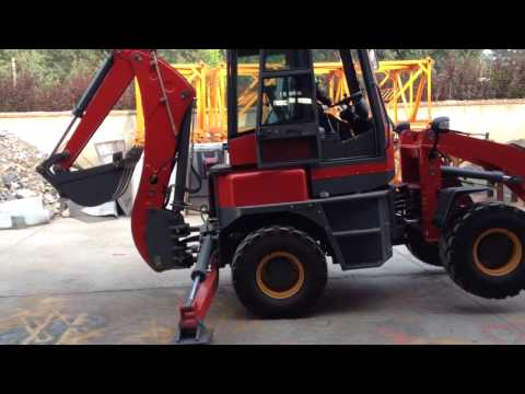 China new backhoe Xinchai Euro3 engine 1600kg lifting 498BT1 . Popular in Europe
