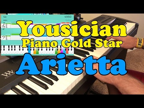 Yousician: Arietta (Level 7 Piano Gold Star by NelsMedia)
