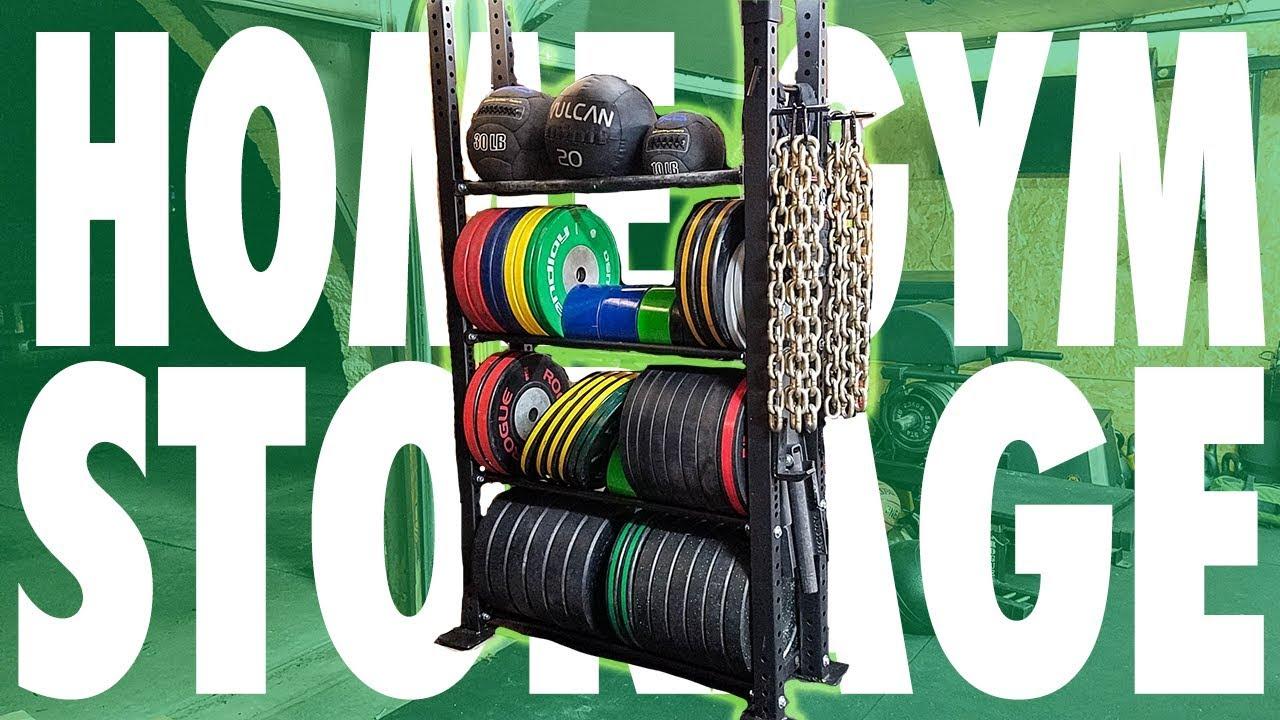 Home gym storage ideas! youtube