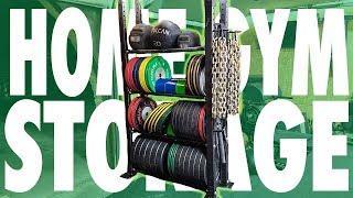 Home Gym Storage Ideas!