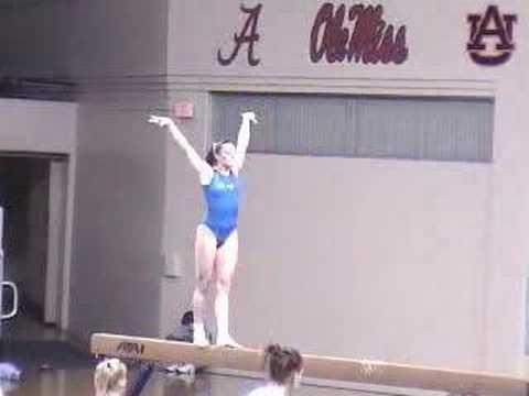 Lucy Bergin Beam 2006 University of Kentucky Gymnastics
