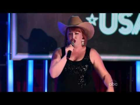 Karaoke Battle USA Meredith McHenry Midnight Train To Georgia Full Clip