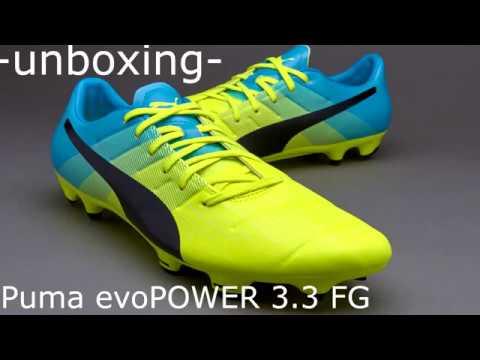 04722575acdd UNBOXING evoPOWER 3.3 FG Safety Yellow Atomic Blue CESC FABREGAS BOOTS!!  AMAZON LINK. Football Italian Revolution