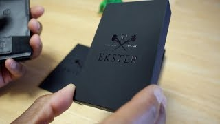 Ekster - RFID Blocking Smart Wallet REVIEW