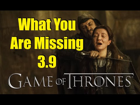 Game of Thrones: What You Are Missing 3.9