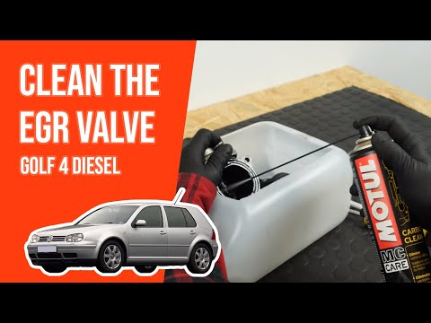 How to clean the EGR valve GOLF 4 1.9 TDI ♻️