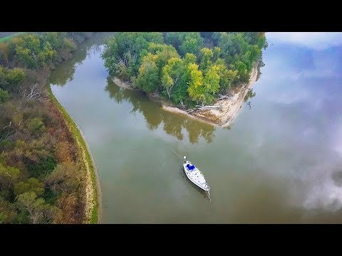 All Alone… Illinois River to the Mississippi | Sailing Soulianis - Ep. 27
