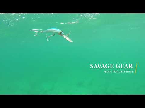 How Lures Swim: Savage Gear Manic Prey Deep Diver