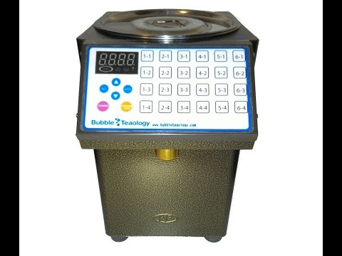 Automatic Fructose Dispenser Sugar Machine Bubble Tea Coffee Liquid Syrup Machine