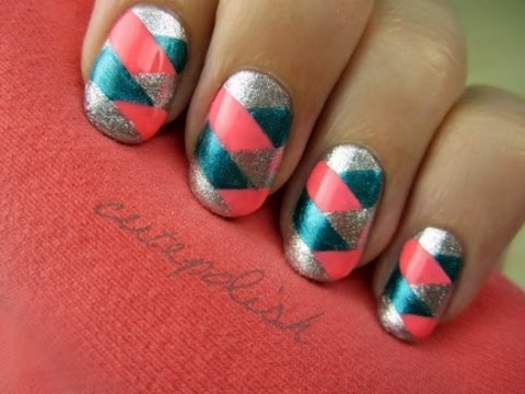 Braided Nail Art