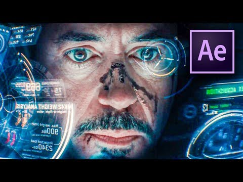 IRON MAN HUD EFFECT in After Effects (Tutorial) thumbnail