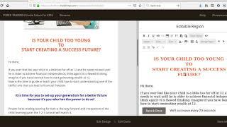 كيفية تحرير HTML البريد الإلكتروني في #mailchimp? | تم إنشاؤها بواسطة #shahalamkiron #Fiverr