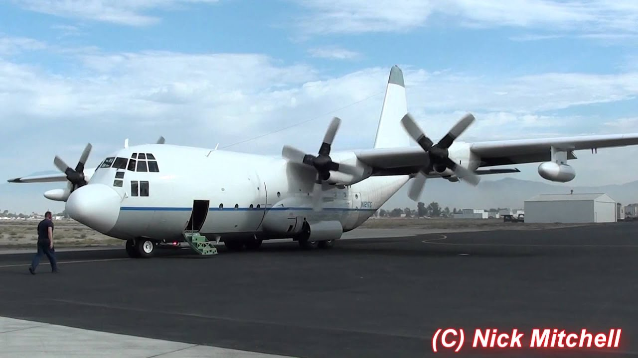 International Air Response C-130A Hercules @ KHMT 10-24-11 ...