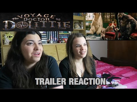 THE VOYAGE OF DOCTOR DOLITTLE TRAILER REACTION
