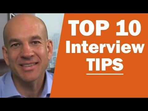 Top 10 Job Interview Tips - Training Module 2