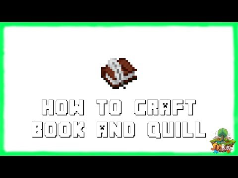 ✔-minecraft-1.15.2:-how-to-craft-book-and-quill!-(2020)