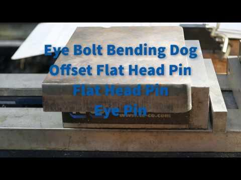 DIY Hossfeld Universal Metal Bender Part 4 Eye Bolt Bending Dog