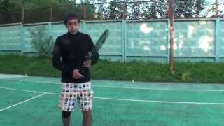 Теннис. Удар справа. Часть 4.