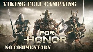 For Honor Vikings Campaign Story Ultra Settings No commentary