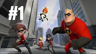 Disney Infinity 1.0 Gold Edition Gameplay Walkthrough - Incredibles Part 1 - No Commentary [PC HD]