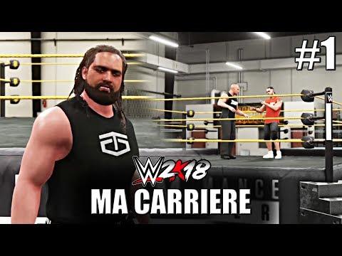 [WWE 2K18] Ma Carrière #1 - Je ne respecte rien [FR]