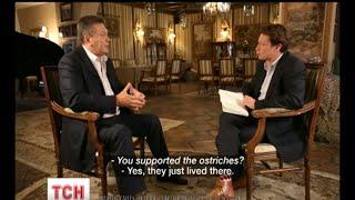 Янукович взяв на себе часткову відповідальність за розстріли на Майдані(UA - Янукович взяв на себе часткову відповідальність за розстріли на Майдані. Президент-утікач дав інтерв'ю..., 2015-06-23T06:36:09.000Z)